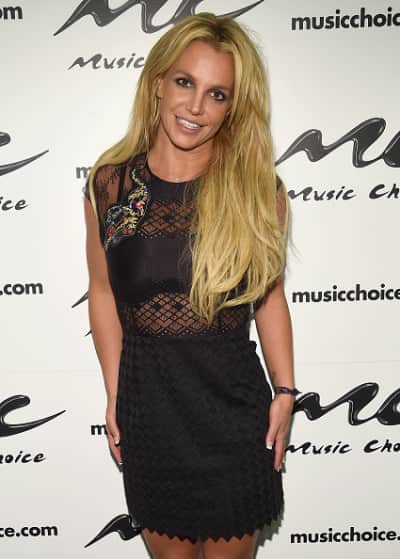 Britney Spears Glowing at Music Choice