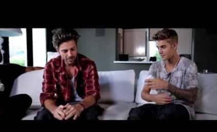Usher to Justin Bieber: Don't Eff Fame Up!