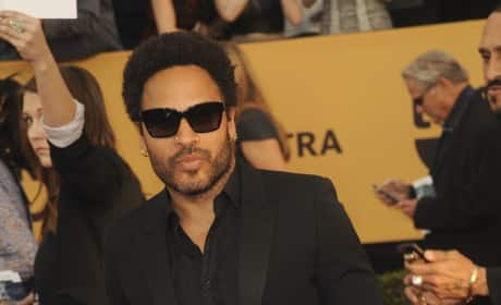 Lenny Kravitz at the SAG Awards