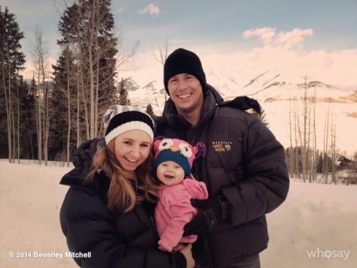 Beverley Mitchell Family Photo