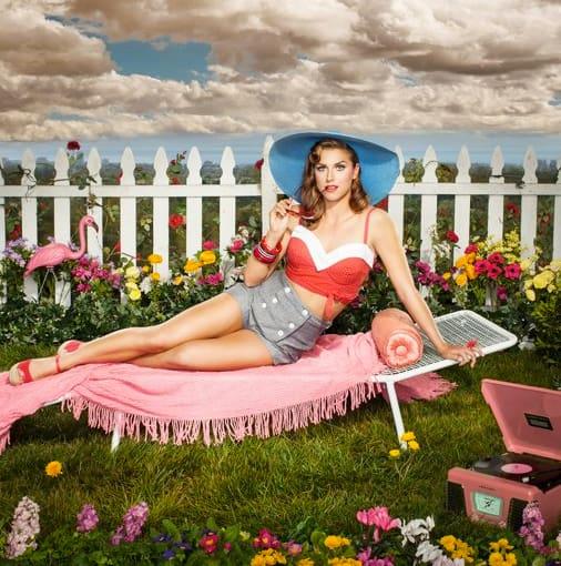 Alex Morgan as Katy Perry
