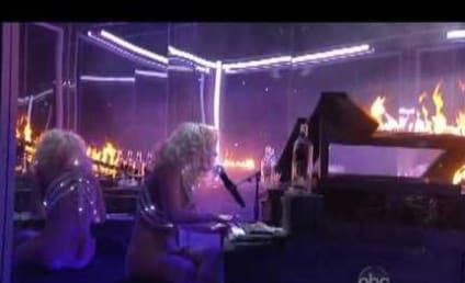 Lady Gaga Delivers Smashing AMA Performance