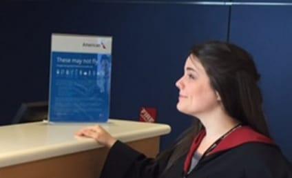 American Airlines Employee Looks JUST Like Severus Snape!
