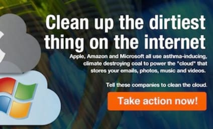 Greenpeace Takes Apple, Amazon, Microsoft to Task Over Coal-Powered Cloud Data Centers