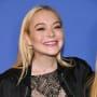 Lindsay Lohan Smiles