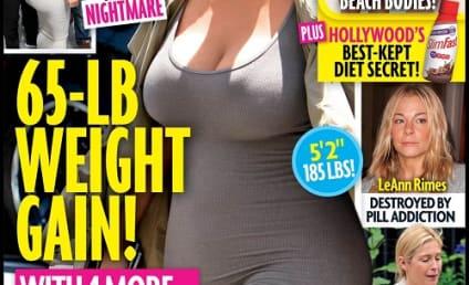 Kanye West: Pissed About Kim Kardashian's Pregnancy Weight Gain?