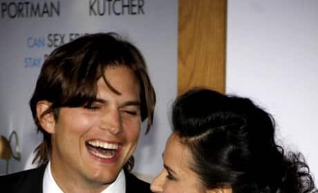 Ashton Kutcher and Demi Moore Picture