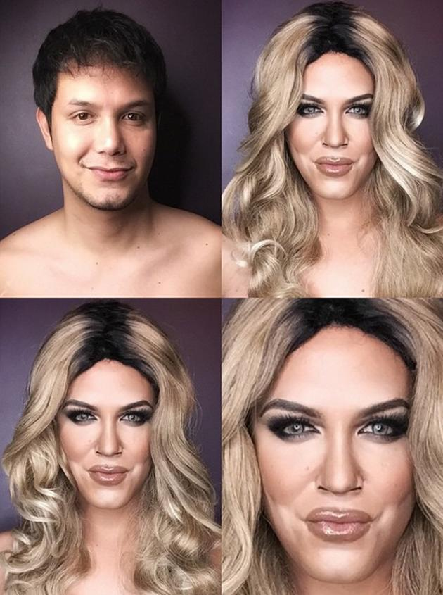 Famous Makeup Artist Makes Like Caitlyn Jenner See The