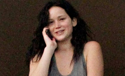 Jennifer Lawrence: No Makeup! Brown Hair! Weed! [Photos]