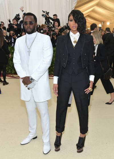 Diddy and Cassie Ventura, MET Gala 2018