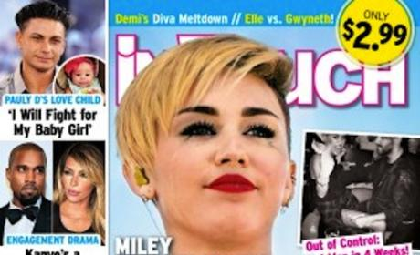 Miley Cyrus Tabloid Photo