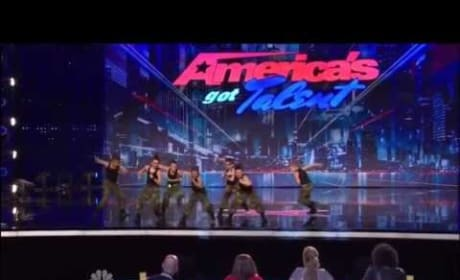 The Struck Boyz on America's Got Talent