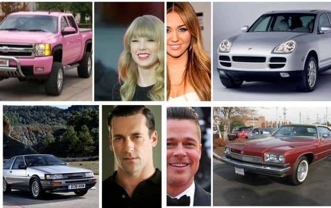 15 celebrities and their first cars taylor swift