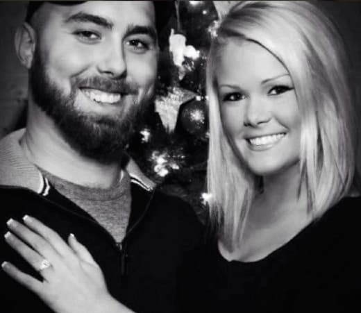 Corey Simms and Wife