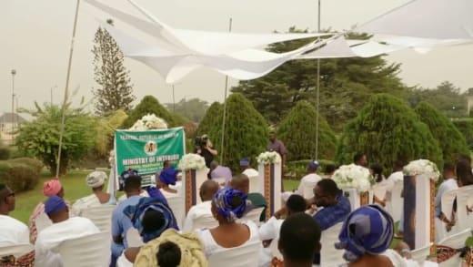 Wedding of Angela Deem and Michael Ilesanmi in Nigeria
