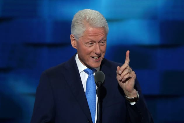 Bill Clinton at the DNC