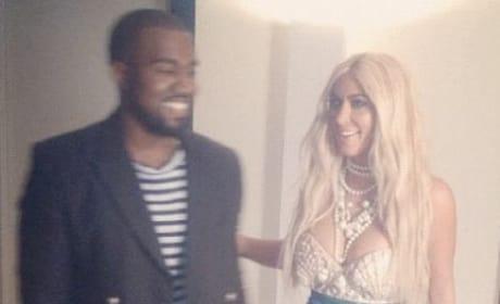 Kim Kardashian as a Mermaid