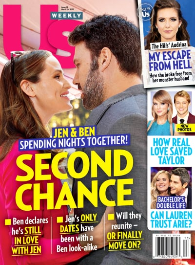 Ben Affleck and Jennifer Garner Cover