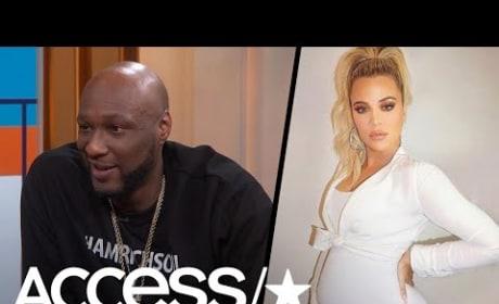 Lamar Odom: Khloe Kardashian Will Be a Great Mom! I'm Not Bitter!