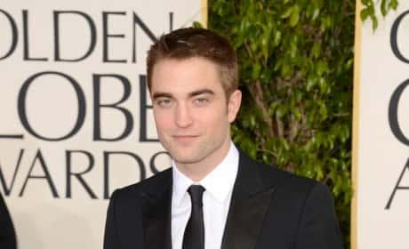 Robert Pattinson at Golden Globes