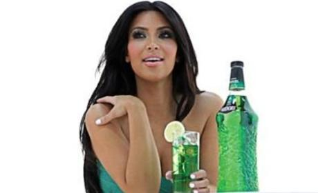 Kardashian in Green