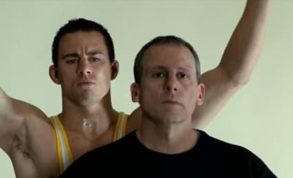 Foxcatcher Reviews: Wait... THAT'S Steve Carell?!?