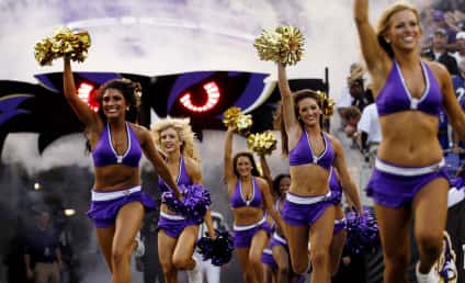 Ravens Cheerleader Barred from Super Bowl