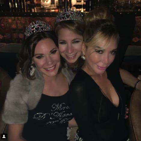 Luann de Lesseps, Jill Zarin and Marysol Patton in Miami
