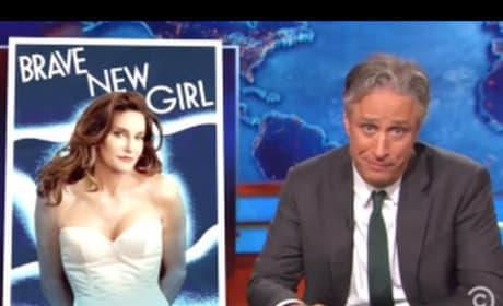 Jon Stewart Mocks Media for Caitlyn Jenner Coverage