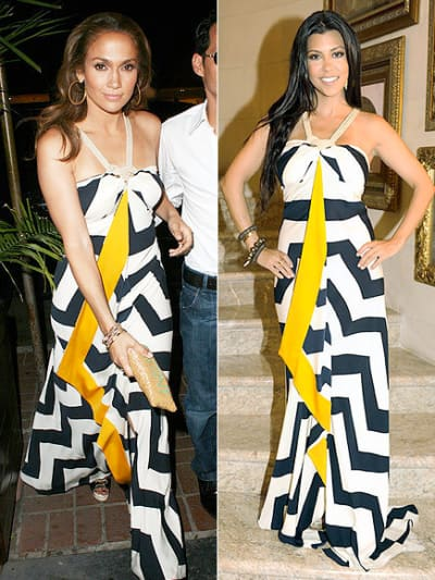 J. Lo. vs Kourtney