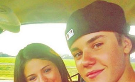 Justin and Selena Instagram