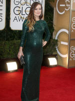 Olivia Wilde at 2014 Golden Globes