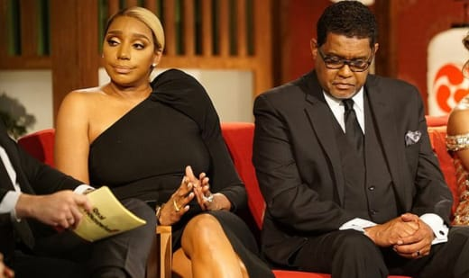 Nene Leakes and Gregg Leakes Attend Reunion