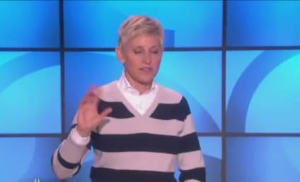 Ellen DeGeneres Applauds Jason Collins: What a Brave Man!