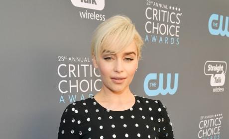 Emilia Clarke is... Looking Different