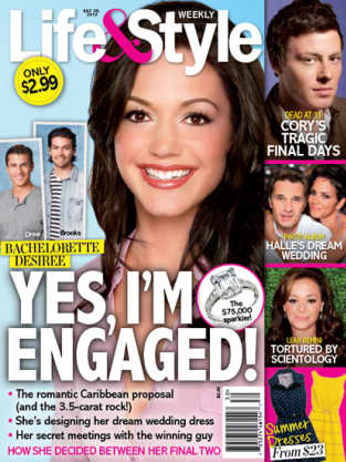 Desiree Hartsock Engaged!