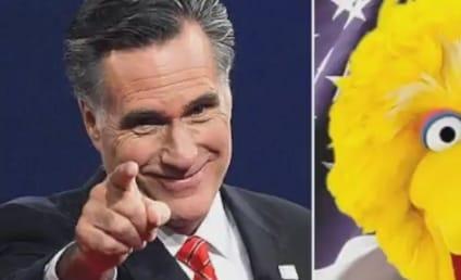Mitt Romney Visits Sesame Street, Incurs Wrath of Big Bird & Friends
