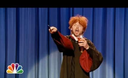 Drunk Ron Weasley Wishes Harry Potter a Happy Birthday