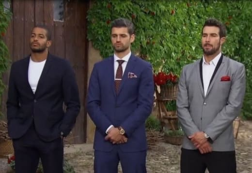 Eric, Bryan and Peter on The Bachelorette