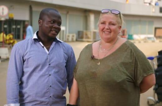Angela Deem and Michael Ilesanmi Reunite