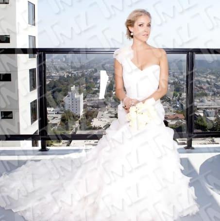 Kristin Cavallari Wedding Dress