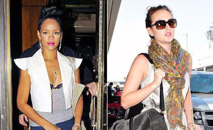 Fashion Face-Off: Rihanna vs. Leighton Meester