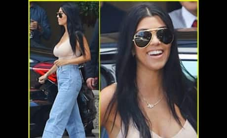 Kourtney Kardashian Boob Job?