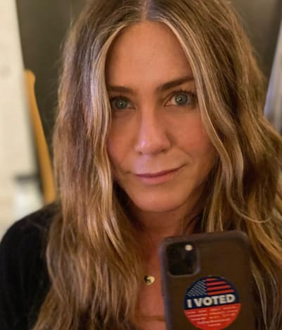 Jennifer Aniston Votó