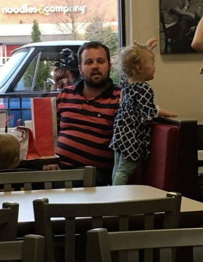 Josh Duggar and Child