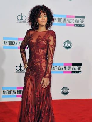 Red, Curly Rihanna