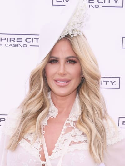 Kim Zolciak in a Hat