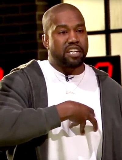 Kanye West at TMZ