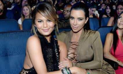Chrissy Teigen to Kim Kardashian: I'll Be Your Surrogate, Girl!
