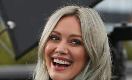 Hilary Duff Laughing